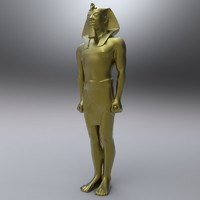 Egyptian Male Statue