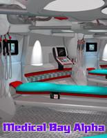 3d model medical bay 51