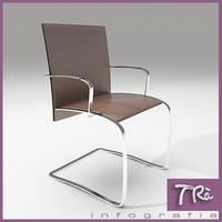 3d office chair zen model