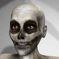 ma character pack zombie skeleton