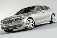 3d model bmw 5-series