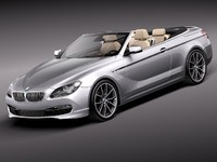 bmw 6 convertible sport 3d 3ds
