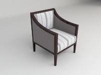 max contemporary armchair