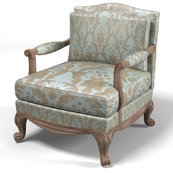3ds max drexel classic furniture for Classic traditional furniture