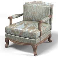 3ds max drexel classic furniture