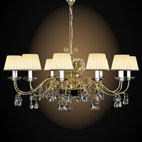 emme pi light masiero 6025-12 chandelier classic crystal luxury elegant big