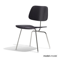 3d model dining chair metal dcm