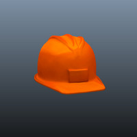 3d model hard hat