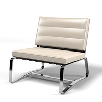 minotti delaunay leather 3d 3ds