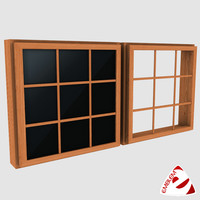 window glass 3d max