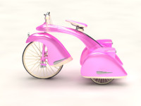 max pink bicycle