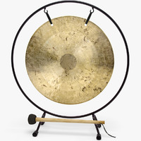Souvenir Feng Shui table gong