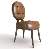 3d max leather chair
