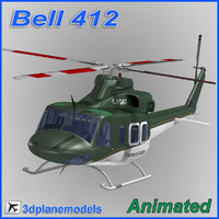 bell 412 3d 3ds