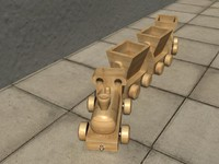 Wooden Toy Train_Jerif