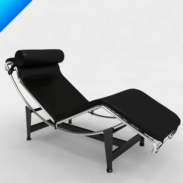 max le corbusier lc4 seat - le corbusier LC4 chaise... by 2in1studio