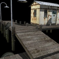 old dock 3d 3ds