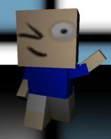 cube man boy ma free