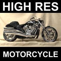 Highres Motorcycle