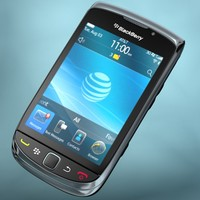 blackberry torch 9800 c4d