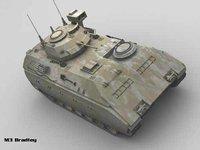 3ds max m3 bradley tank
