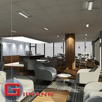 cafe cafeteria 3d model