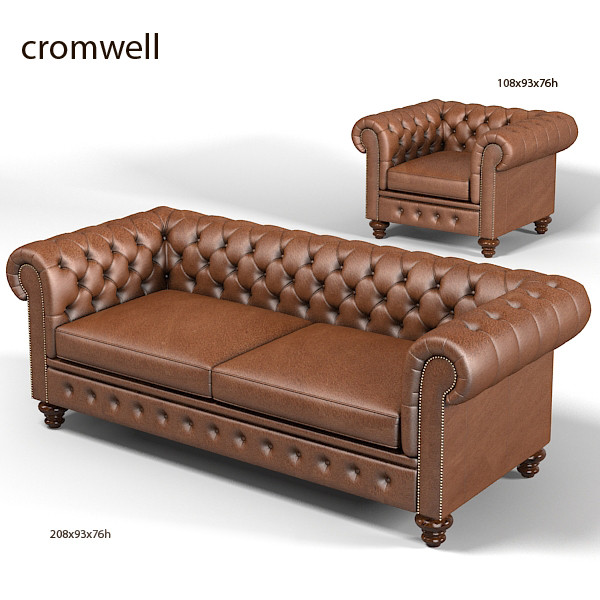Max Chesterfield Traditional Tufted