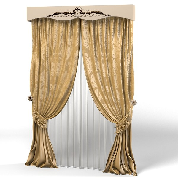 curtain classic luxury baroque canopy glamour window decoration.jpg
