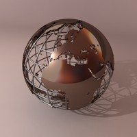 maya globe earth