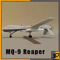 3ds mq-9 reaper