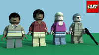 LEGO Lost Minifigure Pack 5
