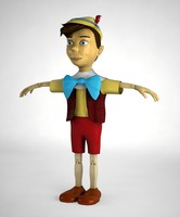 Pinocchio Puppet Toy