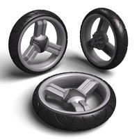 pushchair wheel tyre max