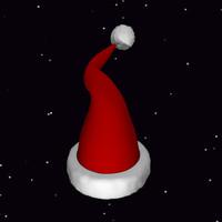 santa hat 3ds