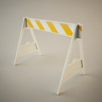 Truax Studio Construction Barrier
