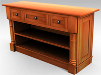 classic sideboard cabinet 3d max