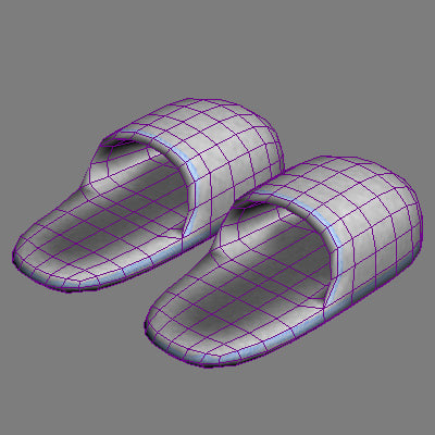 Searched 3d models for Slippers Espa
