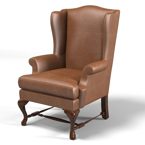 wing armchair chair leather  traditional classic country style wingback.jpg