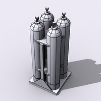 Cluster of Gas Tanks