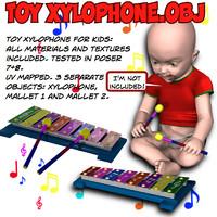 Toy Xylophone.obj
