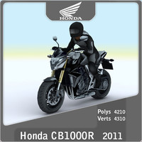2011 honda cr1000r 3d 3ds