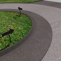 free c4d model roundabout