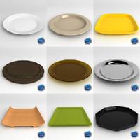 dish 3d model