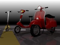 3 Scooters