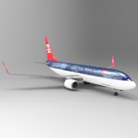 737 aircraft 3ds