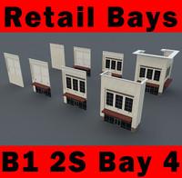 building b1 2s 2-story 3d 3ds