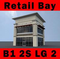 3d building b1 2s 2-story