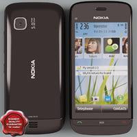 Nokia C5-03 black