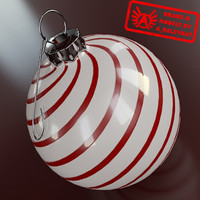 Ornament 6 - High Quality Christmas Ornament - 3ds max 2010 - Mental Ray