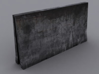 3ds concrete barrier